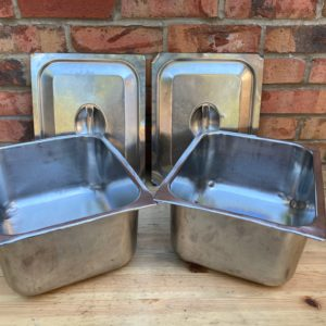 British Army Rectangle Roasting Cook Tray Dish No5 Field Oven Camping Catering
